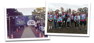 Photos of PSCI team participating in community service and events
